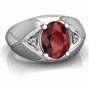 garnet men39s ring r0361 wgrnt With mens garnet wedding ring