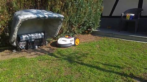 mähroboter worx test rasenroboter garage bauanleitung garage f r den automower