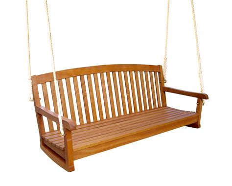 royal tahiti 59 inch wooden three seater swing by