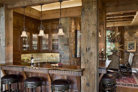 16 esempi di angolo bar in casa con arredamento rustico mondodesign it