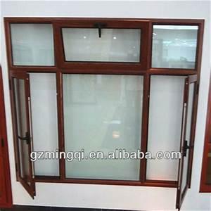 Wooden Color Aluminum Window Frames Designs - Buy Wooden