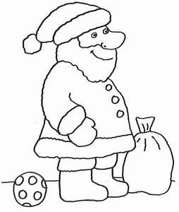 Einfache Bilder Zum Ausmalen Nikolaus