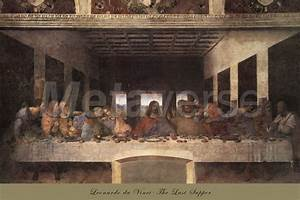The Last Supper, c.1498 (post-restoration) art print at ...