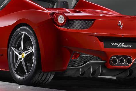 New Ferrari 458 Italia Spider With A Retractable Hardtop