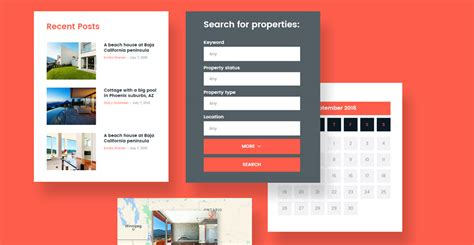 featured template  responsive real estate wordpress