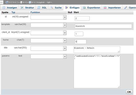 blue stork template joomla 3 joomla update migration von 2 5 28 auf 3 4 1 erzeugt