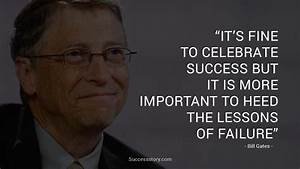 Quotes Bill Gates Success Story. QuotesGram