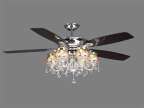 chandelier crystal light kit for ceiling fan ceiling
