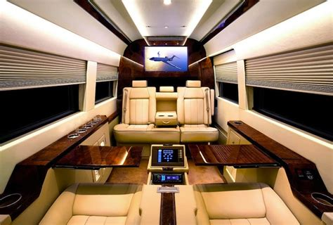 ordinary vans shocking luxury interior