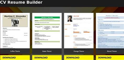 resume template app talktomartyb