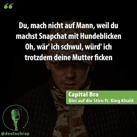 capital bra zitate socialmedia links deutschrap linez