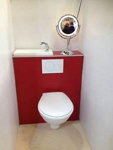Petit Lave Main Wc : wc suspendu avec lave main integre 7 pinterest ~ Premium-room.com Idées de Décoration