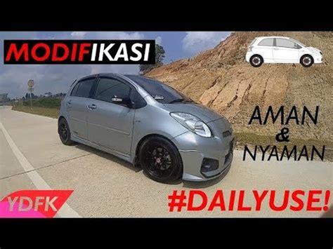 toyota yaris daily use modifikasi simple yaris trd sportivo 2013 untuk harian di jalan