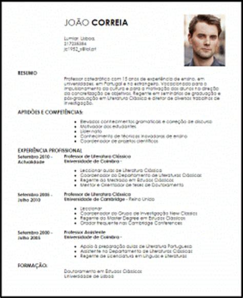 modelo curriculum vitae professor catedr 225 tico livecareer