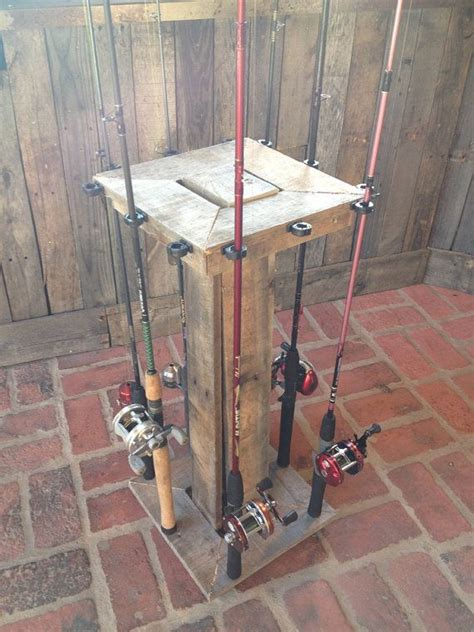 fishing rod rack wood fishing rod rack woodworking projects plans
