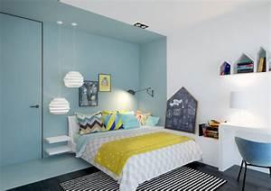 Chambre Enfant Moderne : rendre une chambre d 39 enfant plus attrayante ~ Teatrodelosmanantiales.com Idées de Décoration