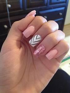 Light pink acrylic nails   Nail Art and Tattoo Design ...