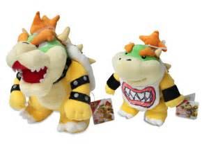Set of 2 - Bowser & Bowser Jr. - Sanei Super Mario All ...
