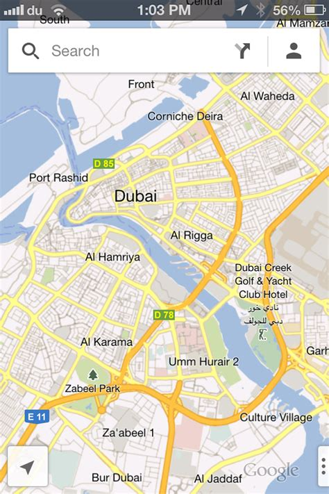maps for iphone maps launched for iphone users in uae emirates 24 7