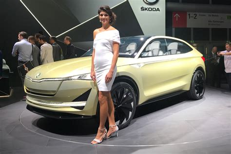 skoda vision  concept pictures auto express