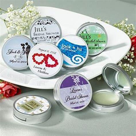 Bridal Shower Supplies Wholesale - personalized bridal shower premium lip balm w compact