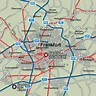 Frankfurt Map and Frankfurt Satellite Image