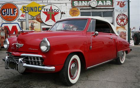 1948 Studebaker Champion Convertible Hawk 1950 Ford Lark