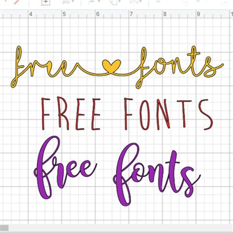 Where to Find Free Fonts for Cricut Design Space - Top 5 ...