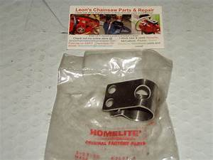 Nos Homelite Super Xl Automatic Chainsaw Handle Bar Clamp