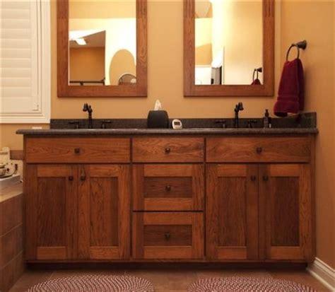 Mission Style Bathroom Vanity - mission bathroom cabinets shaker style bathroom vanities