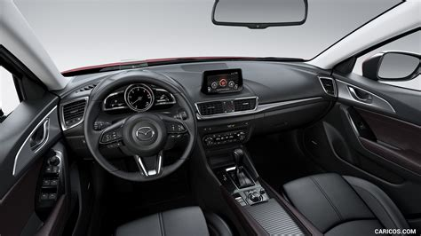 mazda   door hatchback interior cockpit hd