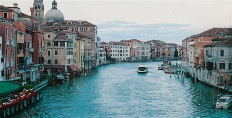 the history scroll the grand canal of venice