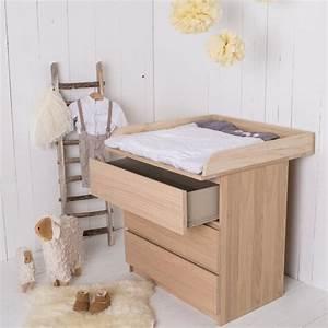 Chambre De Bébé Ikea : mobilier b b la table langer fonctionnelle en bois ~ Premium-room.com Idées de Décoration