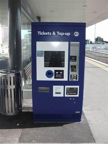 Ticket Machine Station Machines Papakura Tickets Applied