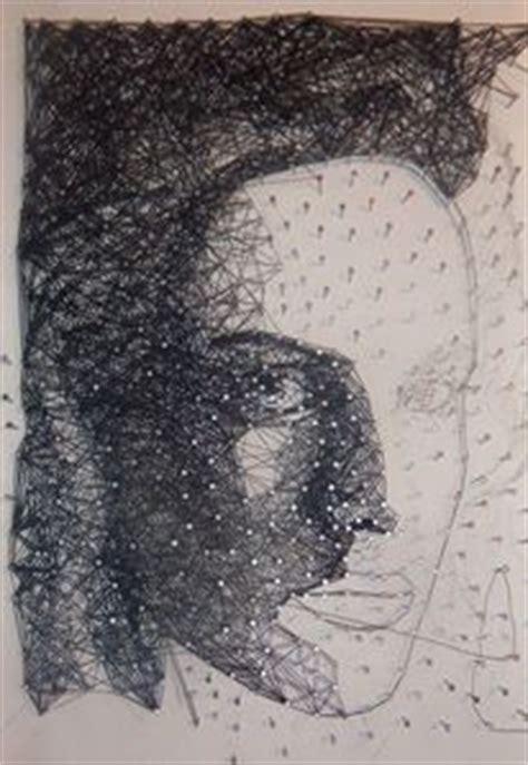 bild mit nägeln und faden nagel acrylmalerei holz und portrait 447 bilder und ideen auf kunstnet