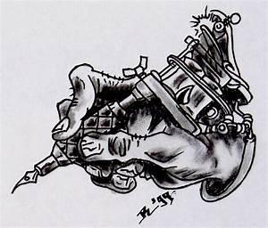 Tattoo design: Machine