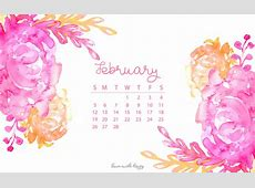 February 2017 Calendar + Tech Pretties Dawn Nicole Designs®