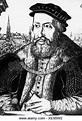 Emperor Ferdinand I, 1503 - 1564, copper engraving by ...