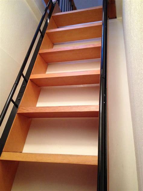 metal rails  ladder loft railing small staircase