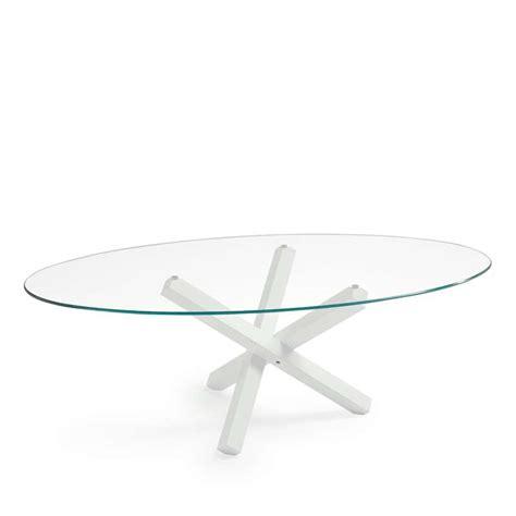 table de salle 224 manger ovale design en verre aikido sovet 174 4 pieds tables chaises et