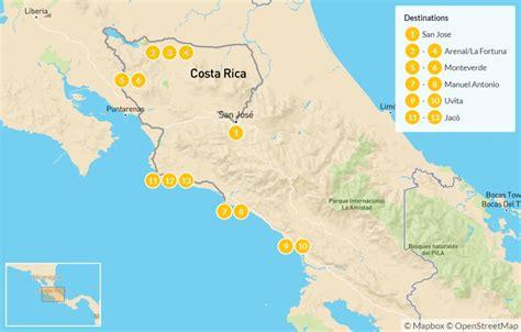costa rica nature beach adventure arenal monteverde