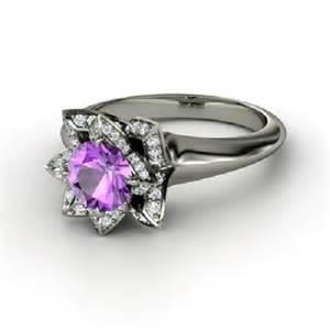 amethyst engagement ring amethyst engagement ring white gold e4jewelry