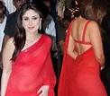 Kareena Kapoor backless in white saree.... #kareenakapoor ...
