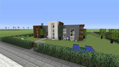 simple modern house xbox  minecraft house design