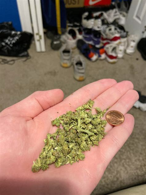 New to buying weed. Does this look like 3.5 Grams? Got it ...