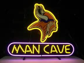 Brand New Minnesota Vikings Man Cave NFL Football Bar Neon