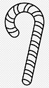Library of black and white png royalty free candy cane png ...
