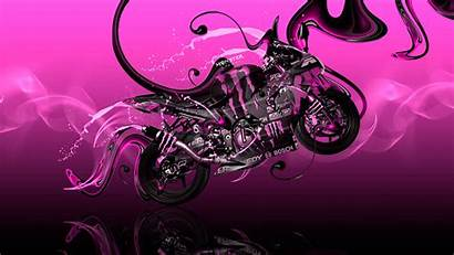 Monster Energy Bike Kawasaki Moto Wallpapers Plastic