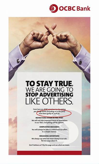 Ocbc Bank Ad Advertising Marketing Singapore Promises
