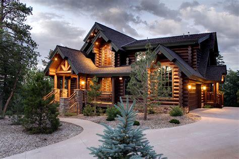 Angles Camp Luxury Log Home  Lindley Log Homes